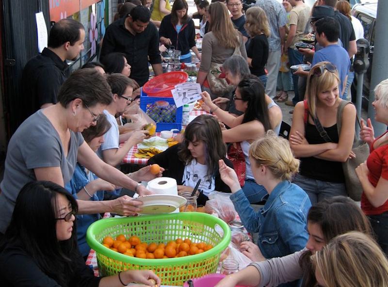 Public Fruit Jam at Machine Project 2